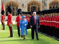 Британцы не рады первому визиту Трампа: студент выстриг на лужайке пенис и послание президенту США, готовятся многотысячные протесты (ФОТО, ВИДЕО)