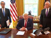Трамп заявил о введении санкций против руководителя Ирана аятоллы Али Хаменеи