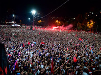 Сторонники Экрема Имамоглу, Стамбул, 23 июня 2019 года