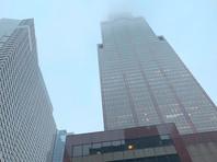 В Нью-Йорке на крышу 54-этажного здания на Седьмой авеню упал вертолет
