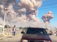 Город на юге Казахстана эвакуировали из-за взрывов боеприпасов в воинской части (ВИДЕО)
