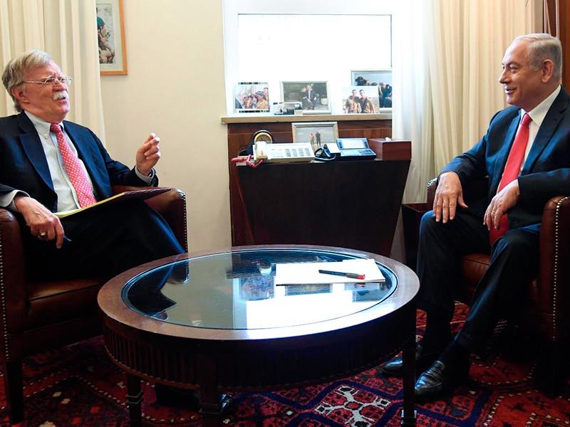 """Болтон пообещал Нетаньяху, что США не дадут Ирану стать ядерной державой"""" />"""