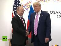 Трамп и Путин встретились на G20 и проговорили полтора часа