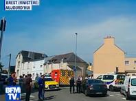 Во Франции человек, устроивший стрельбу перед мечетью в Бресте, покончил с собой