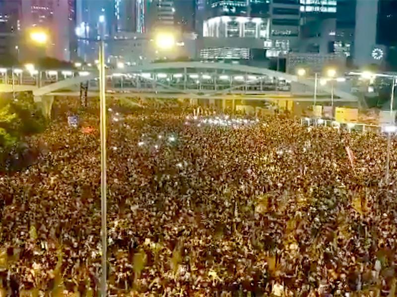 Гонконг, 16 июня 2019 года