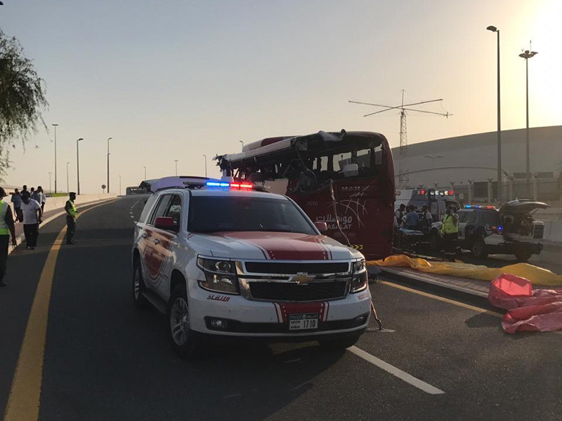 В Дубае в ДТП с рейсовым автобусом погибли 17 человек, включая иностранцев