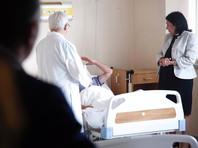 Также Зурабишвили посетила пострадавших в больнице