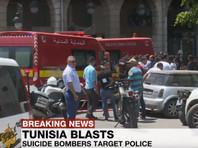 Двое смертников устроили взрывы в столице Туниса, есть погибший и пострадавшие  (ФОТО)
