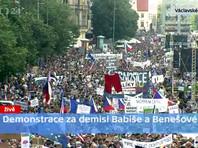"""""""Ты слишком засиделся!"""": участники самого масштабного с 1989 года митинга в Праге потребовали отставки премьер-министра Чехии (ФОТО)"""