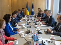 Переговоры между Владимиром Зеленским и Йенсом Столтенбергом