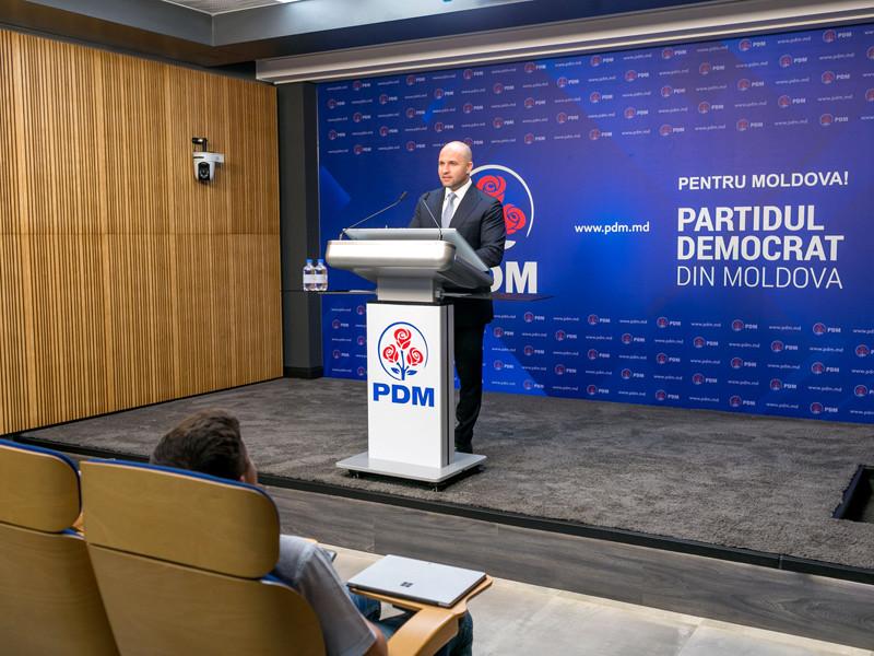 """Демпартия Молдавии уходит в оппозицию, а сформированное ею правительство подает в отставку"""" />"""