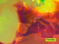 Первые жертвы аномальной жары во Франции и Италии, природные пожары в Испании (ФОТО, ВИДЕО)
