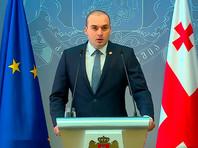 Премьер-министр  Грузии возложил на Саакашвили ответственность за протесты в Тбилиси