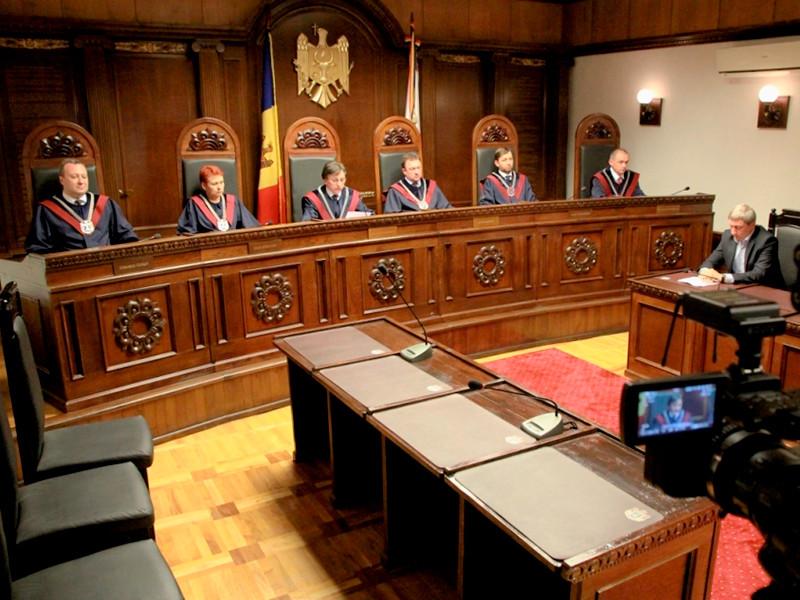 Конституционный суд Молдавии за 5 минут отменил свои решения как навязанные извне
