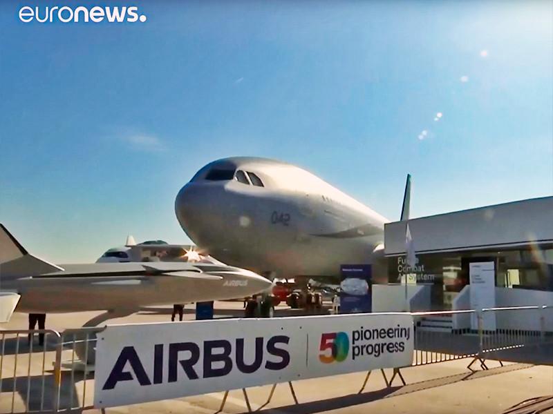 """Boeing не получил ни одного нового заказа на свои самолеты в первый день авиасалона в Ле-Бурже"""" />"""