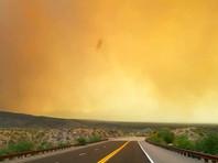 Непогода в США: сильный шторм, наводнения, огромный град и природные пожары (ФОТО, ВИДЕО)