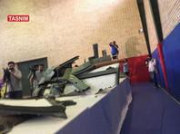 Иран показал обломки сбитого американского беспилотника