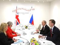 Мэй заявила Путину на саммите G20, что Лондон обладает неопровержимыми доказательствами причастности РФ к отравлению Скрипалей