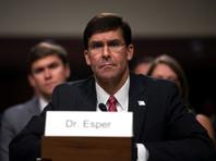 Сенат Конгресса США утвердил кандидатуру Марка Эспера на пост министра обороны
