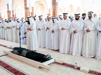 Похороны Халида бин Султана аль-Касими