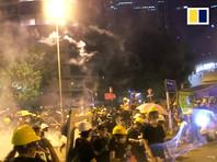 Полиция восстановила контроль над зданием Законодательного совета Гонконга