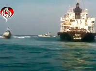 КСИР обнародовал видео задержания танкера Riah под флагом Панамы