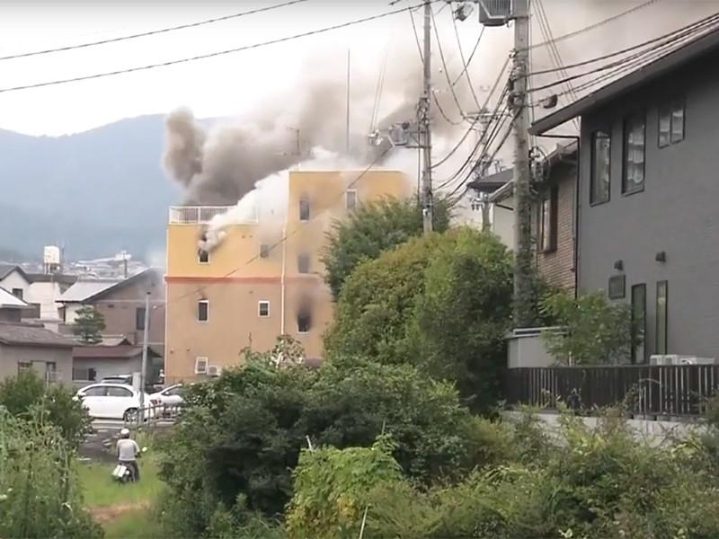 """В японском Киото мужчина поджег студию анимации с криком """"Умрите"""". Погибли более 20 человек"""