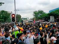 Гонконгцы устроили новую акцию протеста - теперь в спальном районе