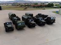 Первая партия прибыла на авиабазу Мюртед в провинции Анкара