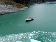 Океанограф Дейв Сазерленд из Университета Орегона и его коллеги изучали подводное таяние ледника Леконт, расположенного к югу от Джуно на Аляске