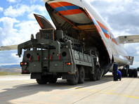 Ил-76 МЧС и Ан-124 ВКС РФ доставили в Турцию на авиабазу Мюртед первую партию российских ракетных систем С-400 (ВИДЕО)