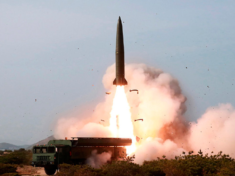 Испытания ракет малой дальности, 4 мая 2019 года