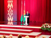 Александр Лукашенко на торжественном собрании, посвященном Дню независимости Белоруссии