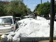Города в мексиканском штате Халиско засыпало градом: высота сугробов достигала полутора метров (ФОТО, ВИДЕО)