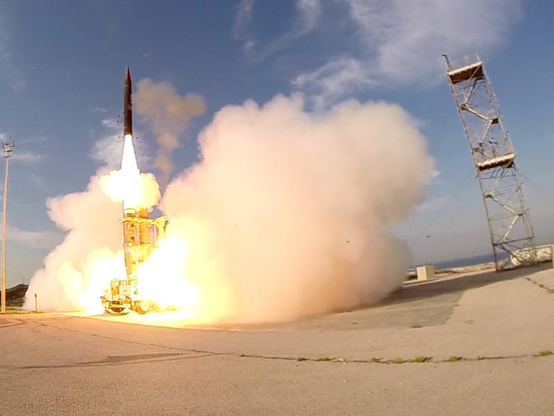 """""""Хец-3"""" был передан на вооружение ВВС Израиля в январе 2017 года. По данным израильских СМИ, испытания системы продолжаются"""