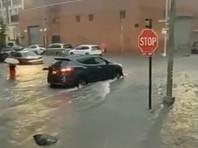 Ненастная погода в США: потоп в Нью-Йорке, 300 тысяч домов без света в Нью-Джерси (ВИДЕО)