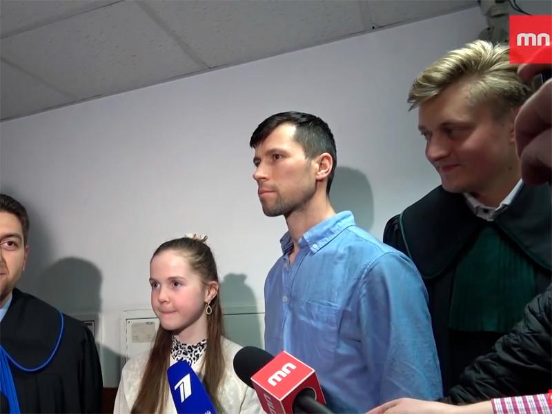 Денис и София Лисовы, апрель 2019 года