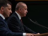 """Турция отказалась признавать Крым российским: президент Эрдоган заявил, что полуостров """"незаконно аннексирован"""""""