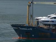 """Трое российских граждан, захваченных на минувшей неделе при нападении пиратов на грузовое судно """"Мармалайта"""" близ камерунского порта Дуала, предположительно, доставлены на территорию Нигерии"""