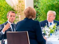 Трамп и председательствующей сейчас в G7 президент Франции Эмманюэль Макрон в ходе состоявшейся во вторник телефонной беседы сошлись во мнении, что приглашение РФ на саммит G7 в 2020 году имело бы смысл