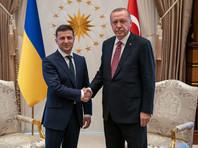 Темы принадлежности полуострова Эрдоган коснулся в связи с ситуацией с крымскими татарами, чья защита прав, интересов, сохранение национальной идентичности и пребывание их на родине в Крыму, по словам президента Турции, всегда будут оставаться приоритетом для его страны