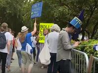 В Великобритании начались акции протеста против решения приостановить работу парламента (ФОТО, ВИДЕО)