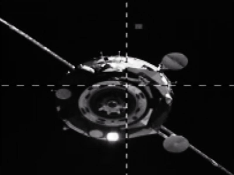 """Корабль """"Союз МС-14"""" с антропоморфным роботом Федором на борту со второй попытки смог пристыковаться к модулю """"Звезда"""" российского сегмента Международной космической станции (МКС)"""