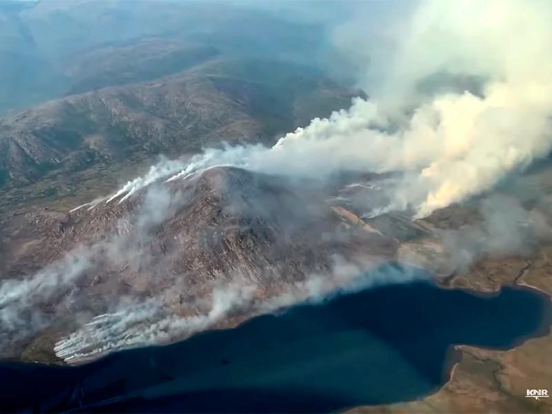 Гренландия, природные пожары, июль 2019 года