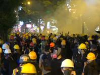 В Гонконге проходят новые несанкционированные акции протеста