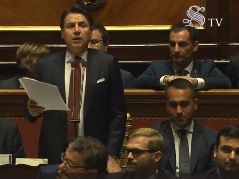 Премьер-министр Италии Джузеппе Конте объявил о завершении работы правительства и своей отставке
