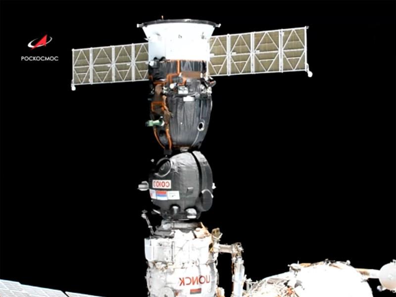 """Корабль """"Союз МС-13"""" перестыковался к другому модулю МКС, чтобы освободить место для робота Федора"""