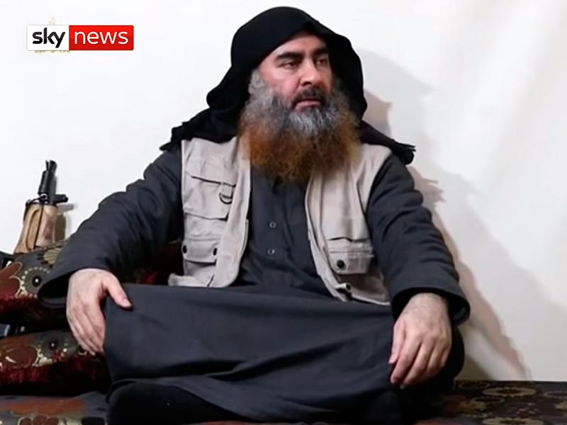 """Лидер террористической организации """"Исламское государство""""* Абу-Бакр аль-Багдади, который, по некоторым разведданным, частично парализован и находится при смерти, был вынужден объявить о своем преемнике"""