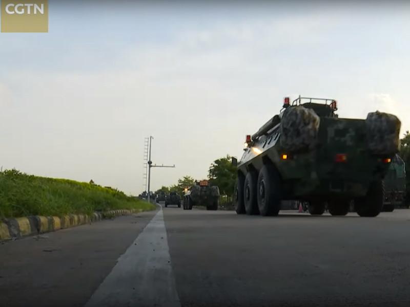 Разведка США докладывает, что Китай стягивает войска к Гонконгу