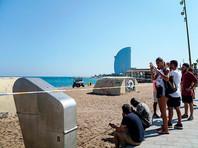 В Барселоне эвакуировали пляж из-за взрывного устройства в море
